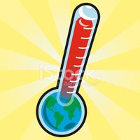 Thermometer,Global Warming,...