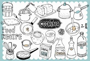 Cooking,Doodle,Chef,Rice - ...