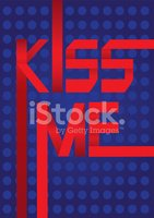 Kissing,Banner,Vector,Text,...