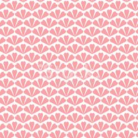 Seamless pattern background, with hearts in pink color
