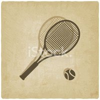 Tennis,Racket,Sign,Sports T...