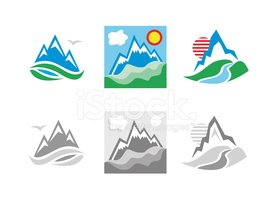 Mountain,Symbol,River,Mount...
