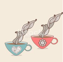 Ilustration,Meal,Swirl,Coll...