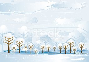 Winter,Abstract,Landscape,S...
