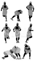 Silhouette,Vector,Sports He...