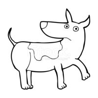 Dog,Clip Art,Cheerful,Doodl...