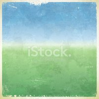Summer themed grungy retro background
