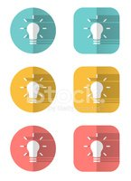 Icon Set,Origami,Light Bulb...