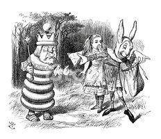 Alice in Wonderland,Rabbit ...