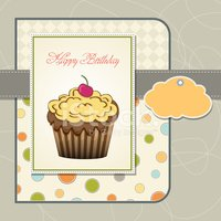 Muffin,Dessert,Postcard,Cute,…