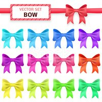Bow,Pattern,Gift,Package,Il...