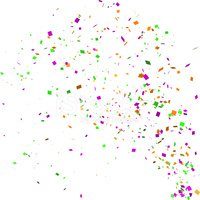 Confetti,White Background,P...