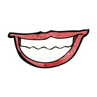 Human Lips,Clip Art,Cheerfu...
