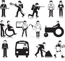 Stick Figure,Armed Forces,S...