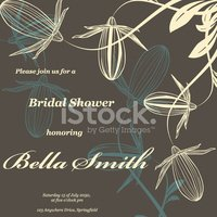 Bridal Shower,Invitation,El...