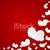 Valentines Day Symbols Hearts Background Stock Vectors Clipart Me
