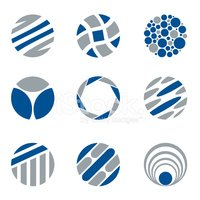 Sign,Gray,Blue,Vector,Geome...
