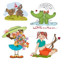 Love,Crocodile,Bird,Joy,Cup...