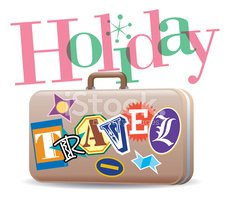 Vacations,Suitcase,Multi Co...