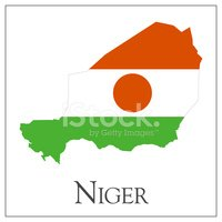 Flag,Africa,Map,Isolated On...