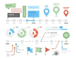Timeline,Infographic,Time,S...