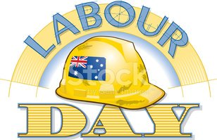 Labour Day Heading C Stock Vectors Clipart Me