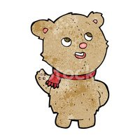 Cheerful,Bear,Teddy Bear,Cl...