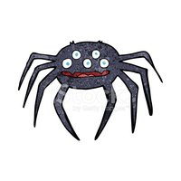 Cheerful,Spider,Halloween,C...