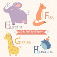 Alphabet,Animal,Child,Giraf...