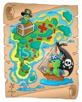 Pirate,Mystery,Paper,Compos...