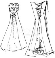 Sketch,Fashion,Wedding,Draw...