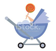 Baby Carriage,Side View,Can...