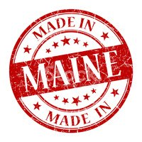 Maine,Sign,Making,Scar,Home...