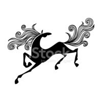 Horse,Chinese Culture,Ilust...