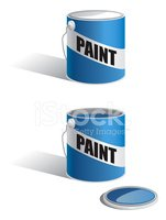 Paint Can,Can,Paint,Vector,...