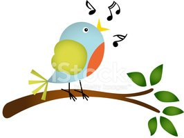 Bird,Branch,Singing,Tree,Mu...