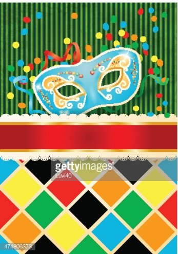 carnival background with mask and copyspace stock vectors clipart me