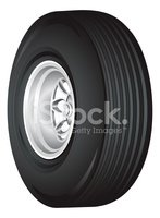 Tire,Wheel,At The Edge Of,S...