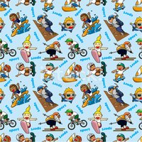 BMX Cycling,Multi Colored,S...