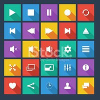Interface Icons,Remote Cont...