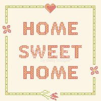 Home Sweet Home,Sewing,Pict...