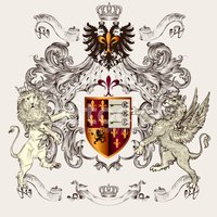 Coat Of Arms,Griffin,Animal...