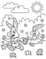 Coloring Book,Sun,Easter,Bl...