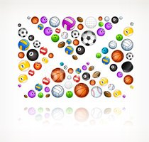 Group of Objects,Bowling,E-...