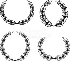 Laurel Wreath,Retro Revival...