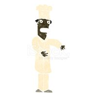 Chef,Retro Cartoon,Cultures...
