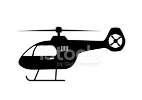 Helicopter,Symbol,Silhouett...
