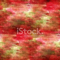 artist green, red watercolor background, art and seamless paint