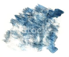 splash paint blue blot watercolour color water ink isolated wate