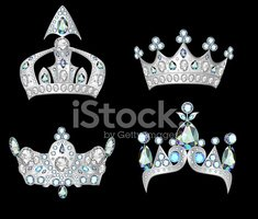 Queen,Crown,Group of Object...
